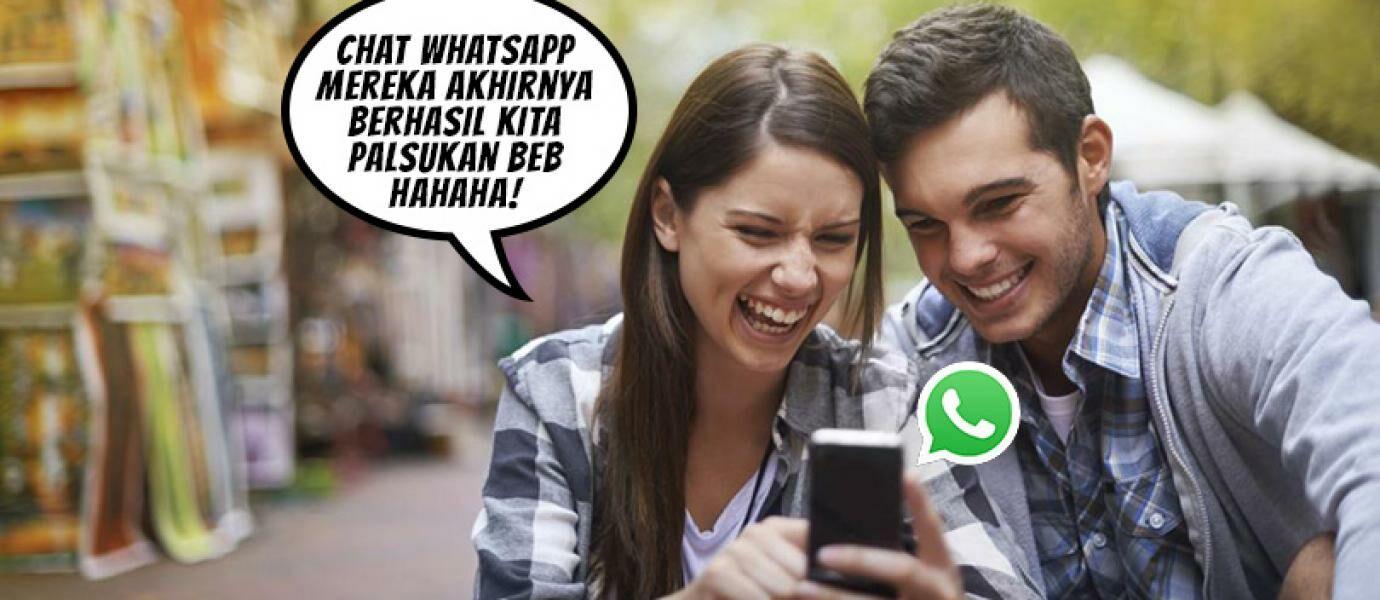 Cara Kocak Membuat Chat Palsu Di WhatsApp Untuk Menjahili Teman