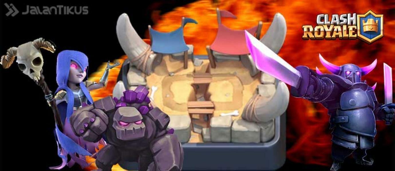 Cara Menang Battle Clash Royale Tanpa Kartu Epic