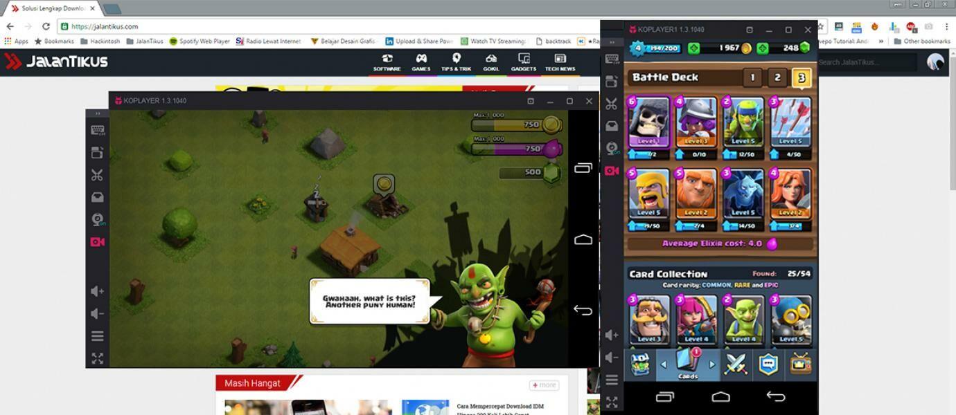 1gb ram android emulator - Cara Main Game Android Di Pc Atau Laptop Tanpa Lambat Meski Ram 1gb