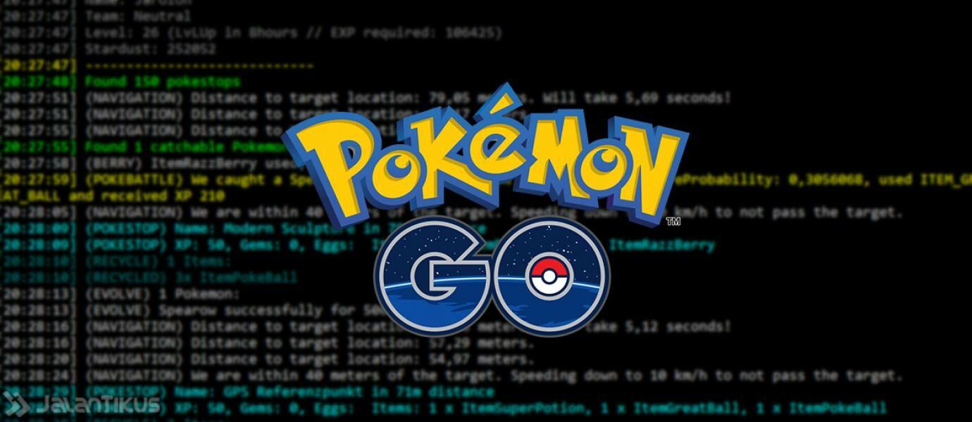 BOT Pokemon GO, Cara Cepat Naik 20 Level dalam Satu Malam