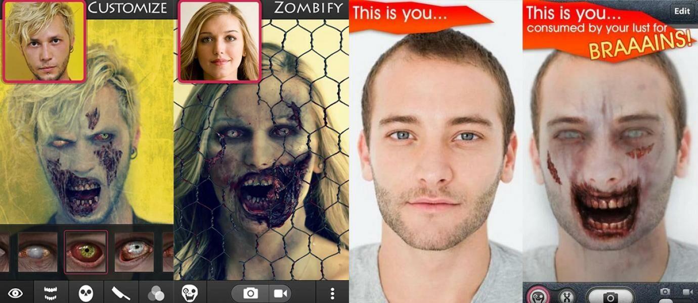 5 Aplikasi Kamera Zombie Terbaik Di Android Untuk Ubah Wajah Jadi