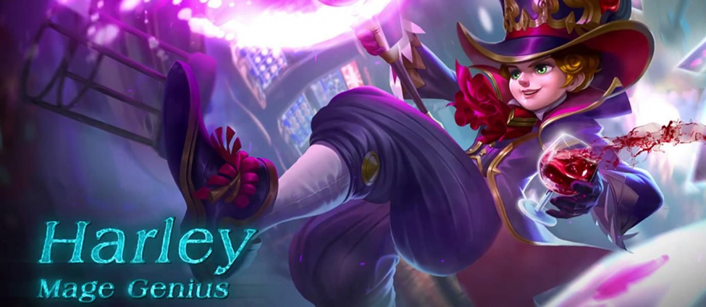 Guide Harley Mobile Legends : Mage Rasa Marksman Berdamage Tinggi