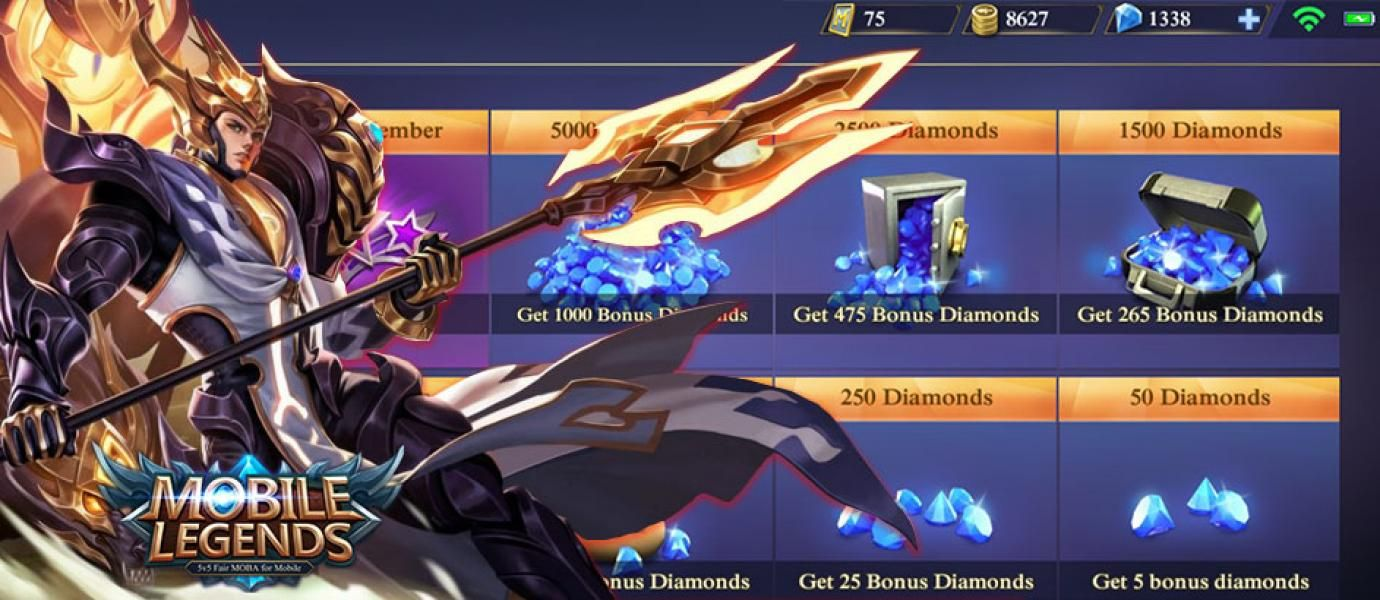 cheat mobile legends gratis foto cantik