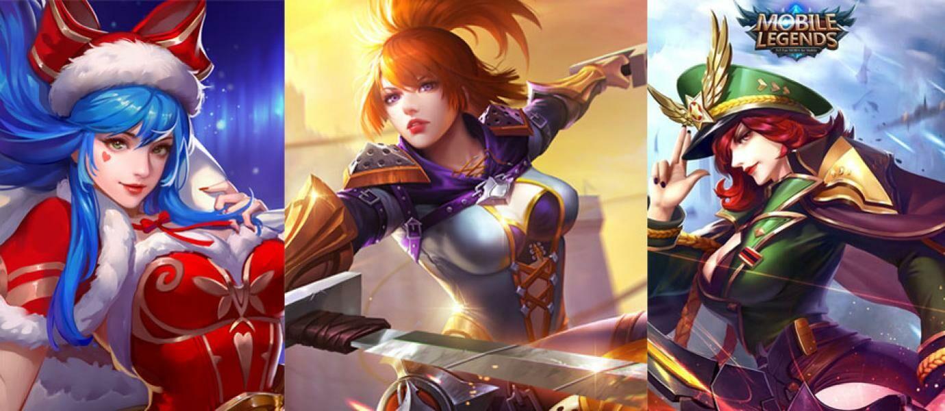 5 Hero Cewek Paling Mematikan di Mobile Legends, Berani Lawan?