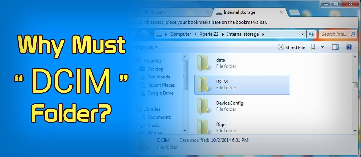 Kenapa Setiap Kamera Menaruh Fotonya di Folder DCIM?