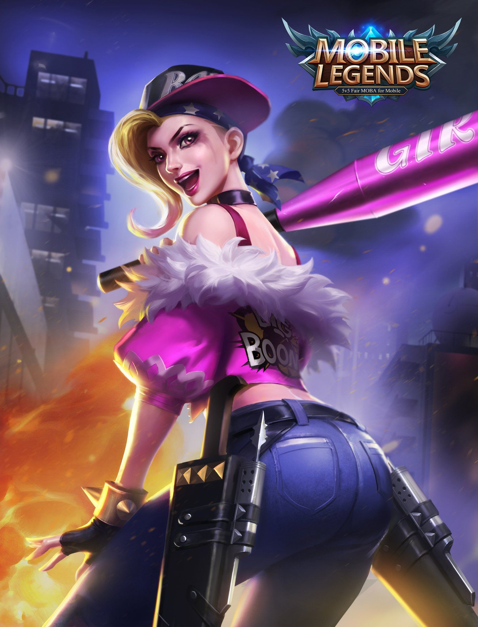 Wallpaper-Mobile-Legends-Fanny-Punk-Princess