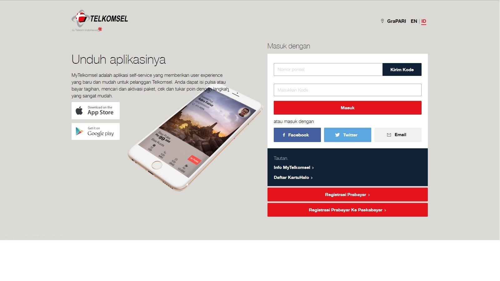 cara-mengecek-kuota-telkomsel-website