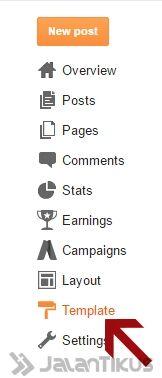Cara Memasang Template Blog 1