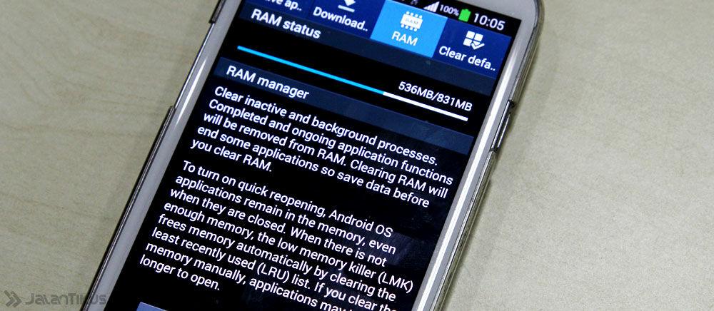 Waspada, RAM 1 GB di Android Kini Sudah Tak Cukup Lagi!