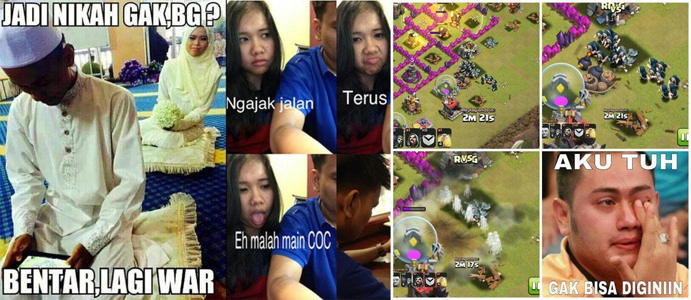 Kumpulan Meme dan Foto Lucu yang Hanya Dimengerti Pemain Clash of Clans