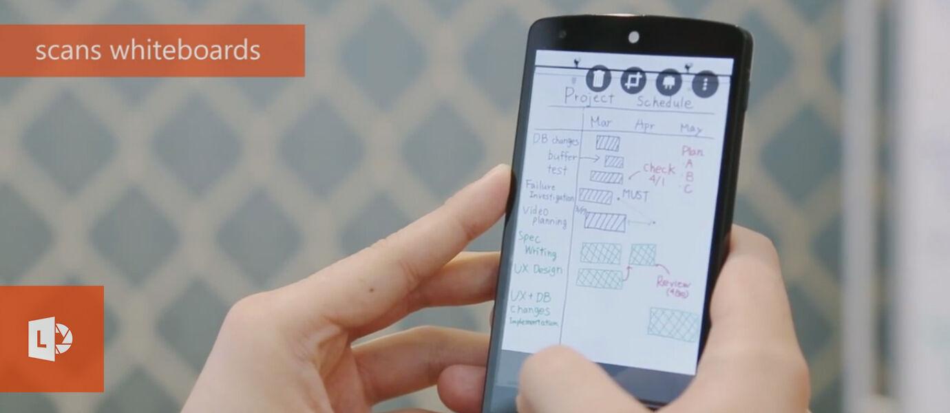 Microsoft Office Lens, Foto dan Scanning Langsung di Android