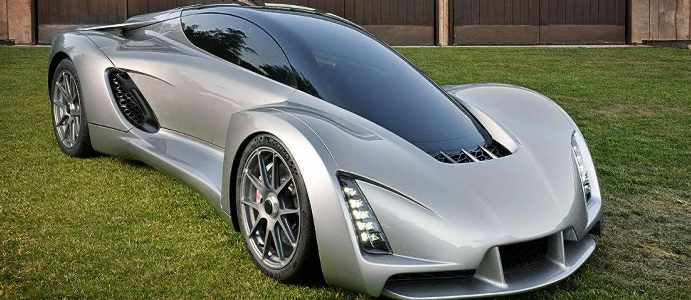 Supercar Hasil Printer 3D Ini Diklaim Sebagai Mobil Tercepat Sejagad Raya
