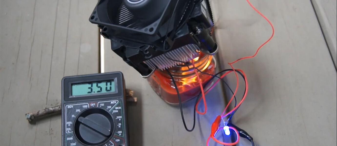 VIDEO: Lilin Dapat Menyalakan Kipas Komputer dan Charge HP?