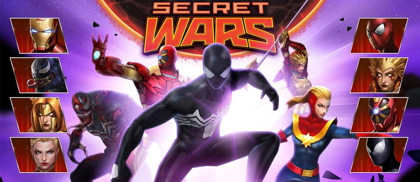 MARVEL Future Fight Bocorkan Konten Secret Wars pada Update Terbaru!