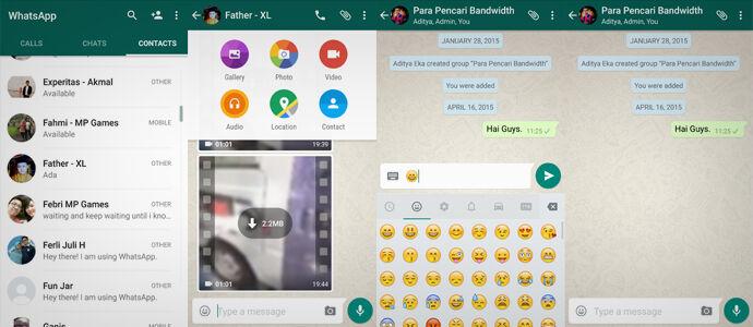 WOW! WhatsApp Resmi Rilis Versi Material Design