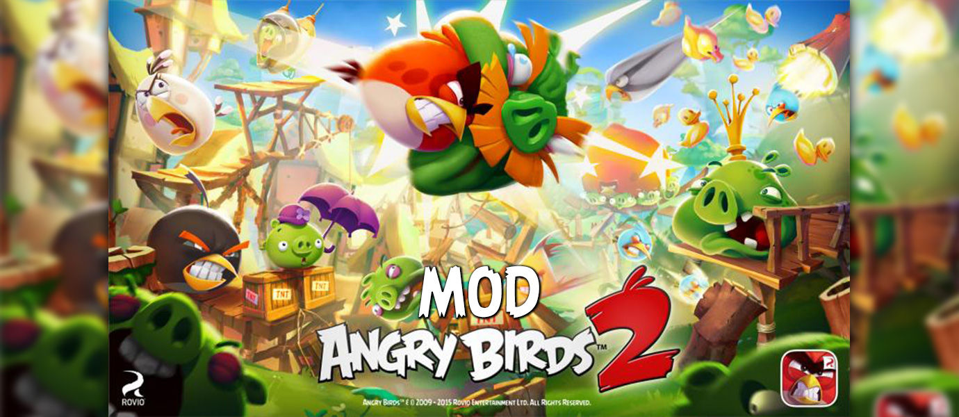 MOD Angry Birds 2 Terbaru di Android dengan Xmodgames
