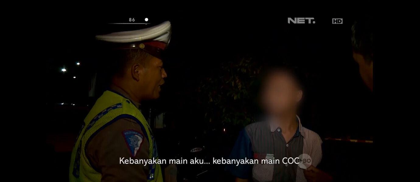 VIDEO: Pemain CLASH OF CLANS Ditangkap Polisi, Kenapa?