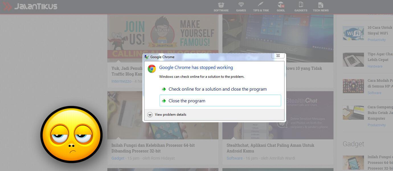 Jangan Coba-Coba Ketik Ini di Google Chrome