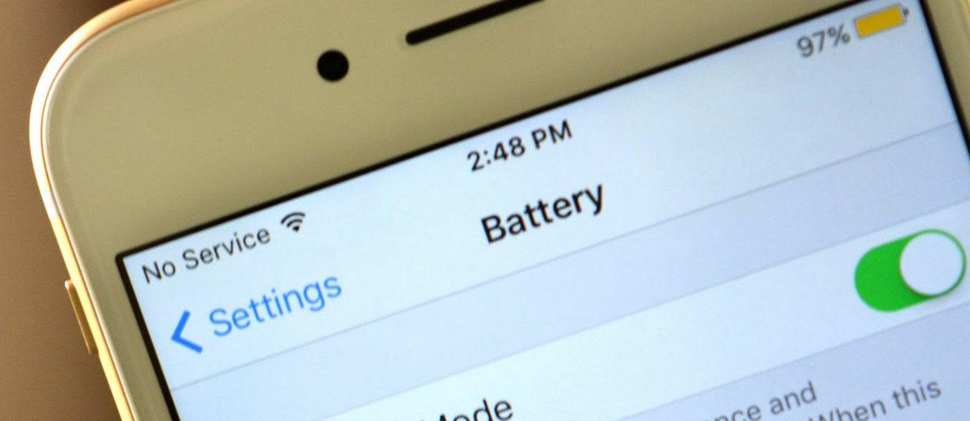8 Cara Bikin Baterai Lebih Irit di iOS 9