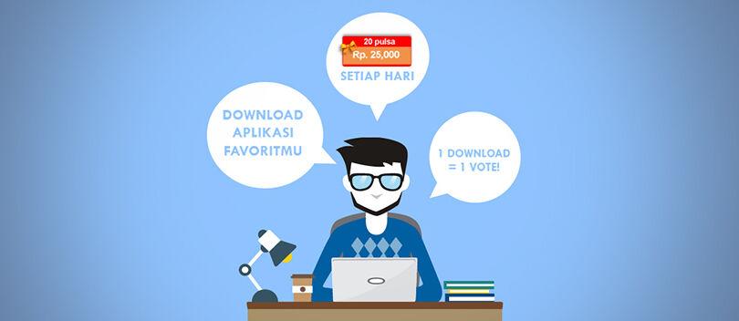 Dapatkan Pulsa Rp 25 Ribu Hanya Dengan Download 9Apps