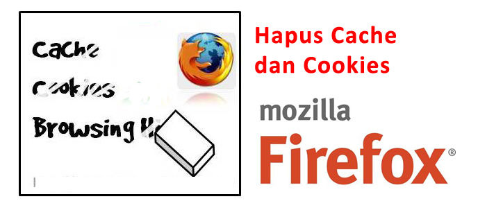 Cara Hapus Cache dan Cookies Mozilla Firefox