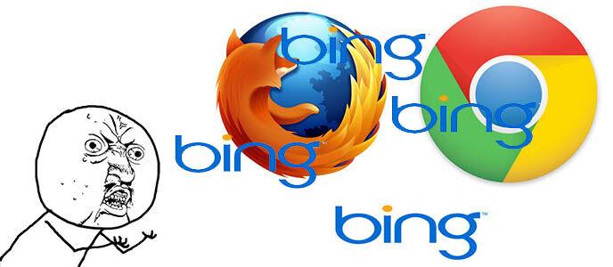 Cara Menghapus Pencarian Bing di Browser