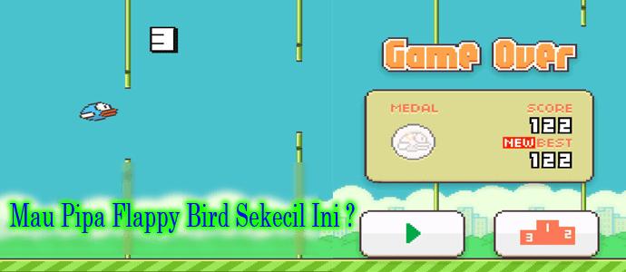 Mengganti Pipa Menjadi Sedotan di Flappy Bird