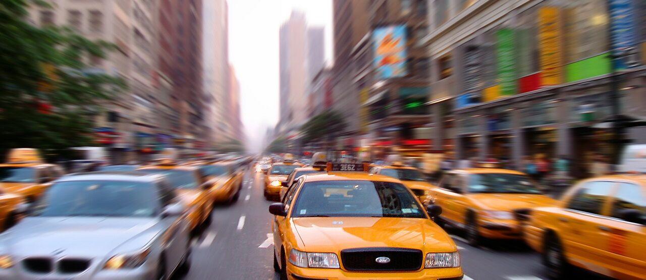Manhattan Traffic Art 063fb