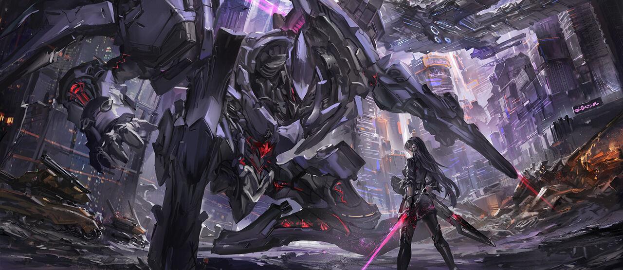 Robot Scifi Anime War Dj 35f13