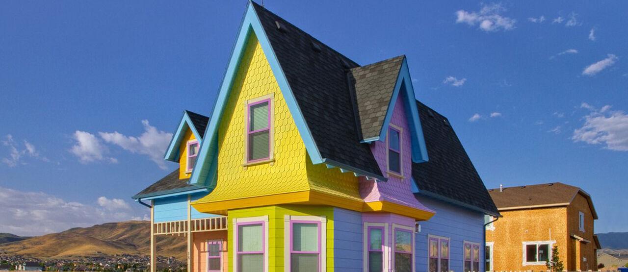 Rumah UP Disney Flickr Com 7bbfd