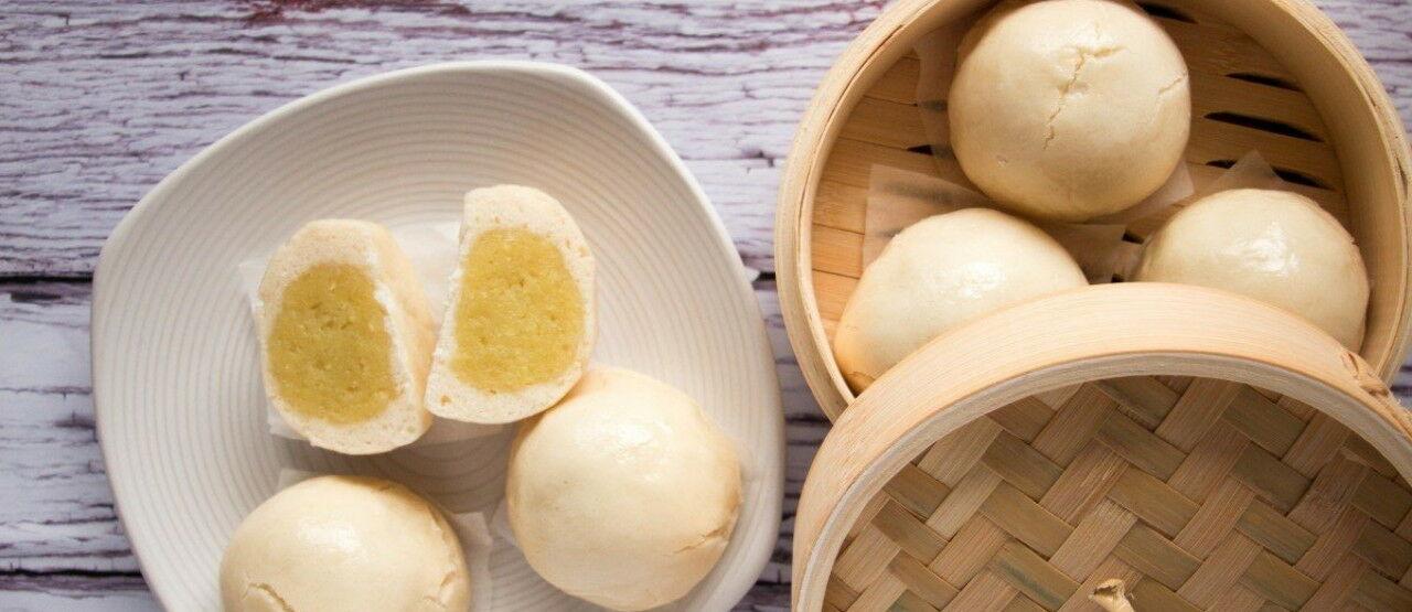Gluten Free Chinese Custard Buns Picsay A2441