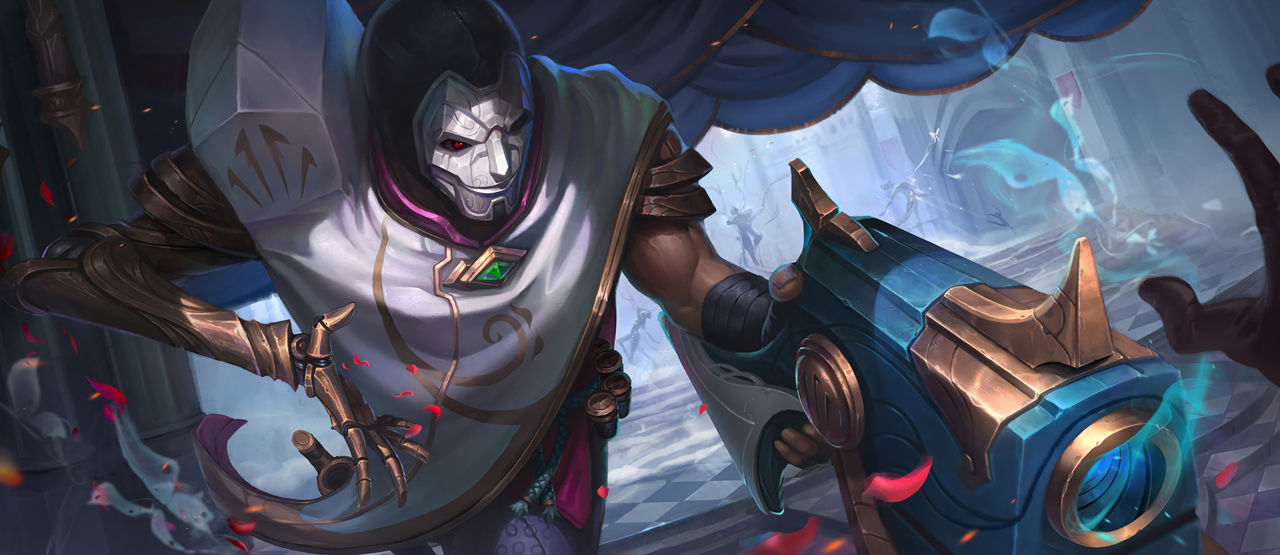Jhin By Kusanagi Lin HD Wallpaper Fan Art Artwork League Of Legends Lol 1fd4f
