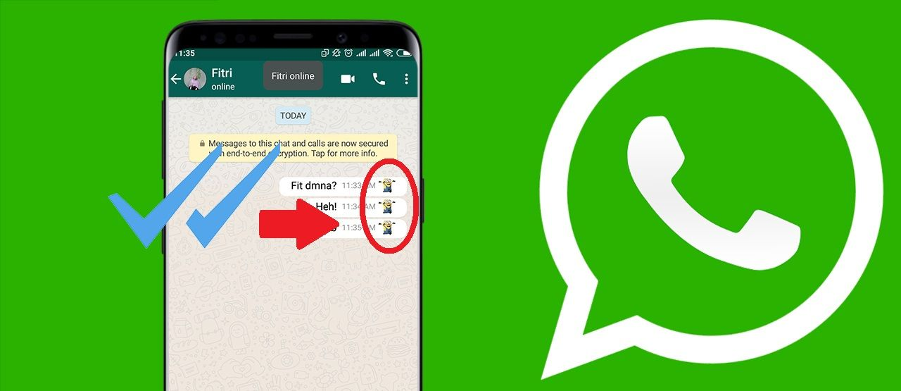Cara Merubah Tanda Centang Biru Whatsapp Ikon Lucu 0c598