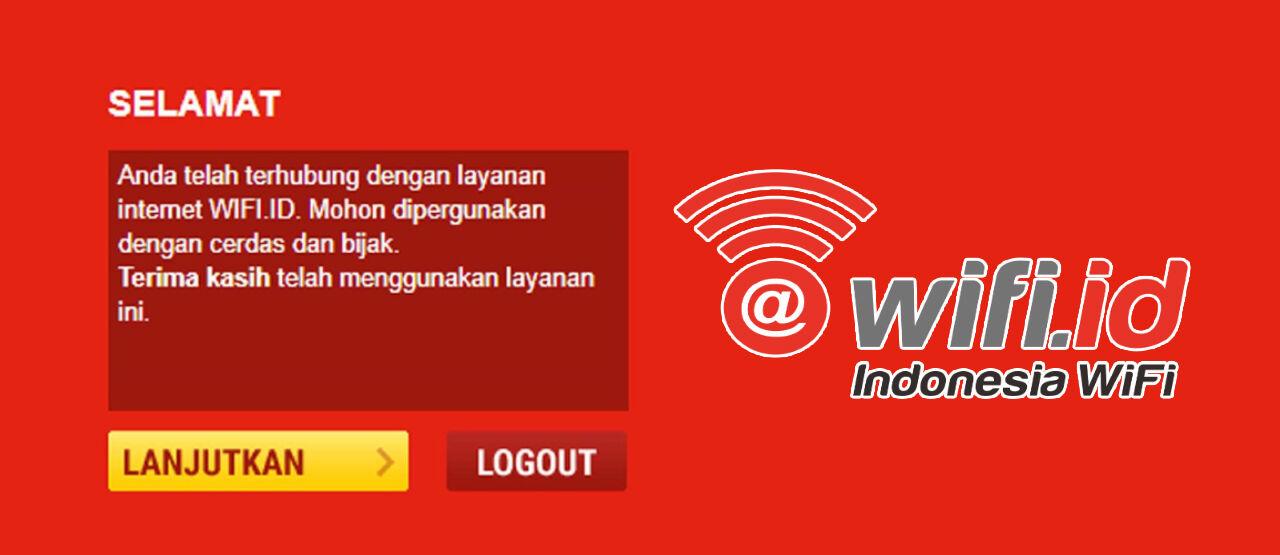 Logout Wifi Id Login 613d9