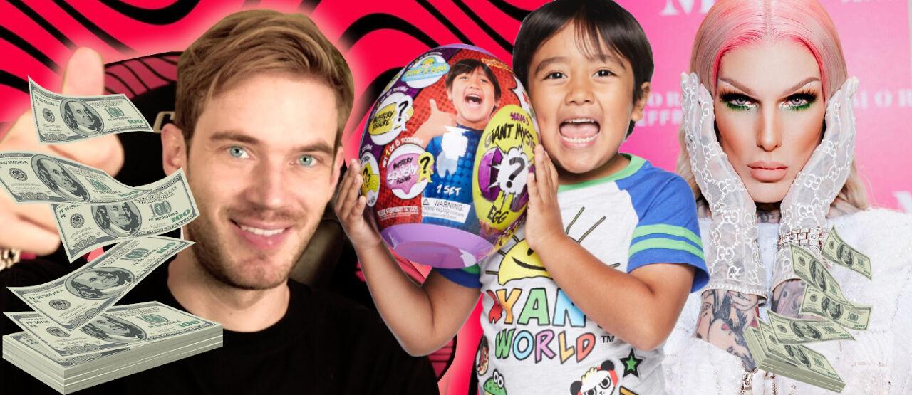 Youtuber Terkaya Di Dunia C580a