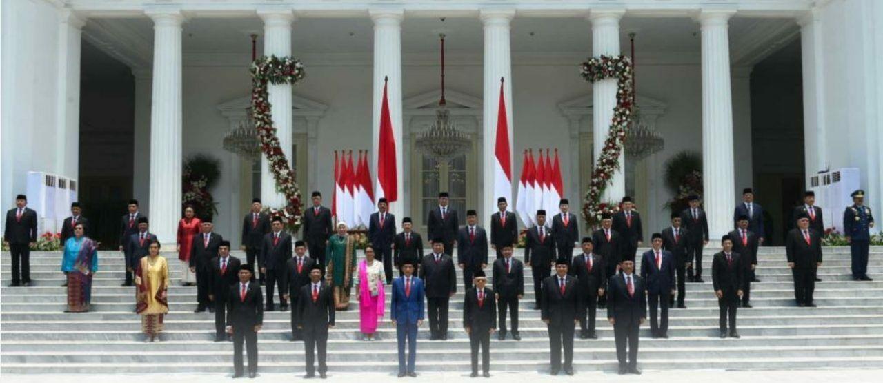 Para Menteri Kabinet Indonesia Maju 80b3e