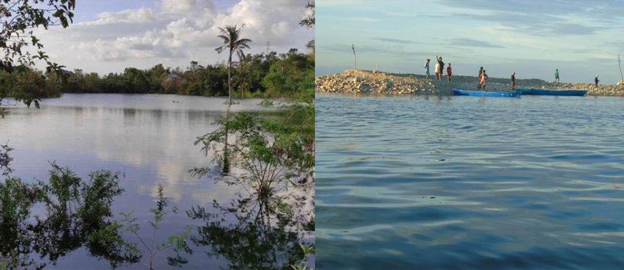 Danau Dan Pulau Baru Muncul Di NTT 6ca1f