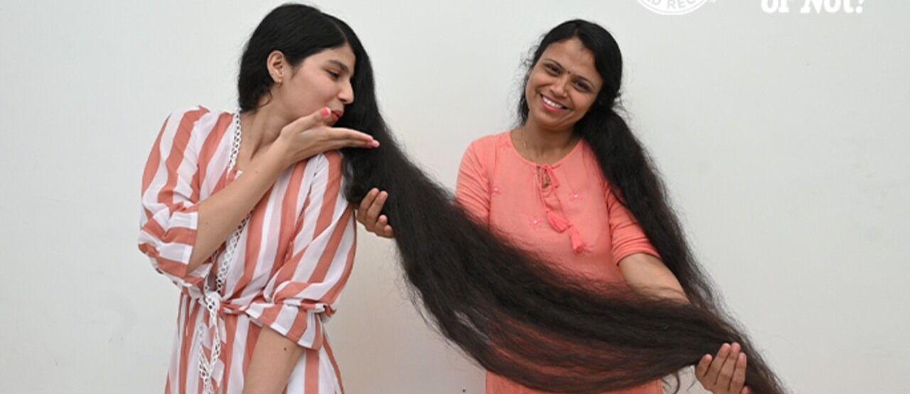 Perempuan Berambut Terpanjang Potong Rambut Setelah 12 Tahun 88a63