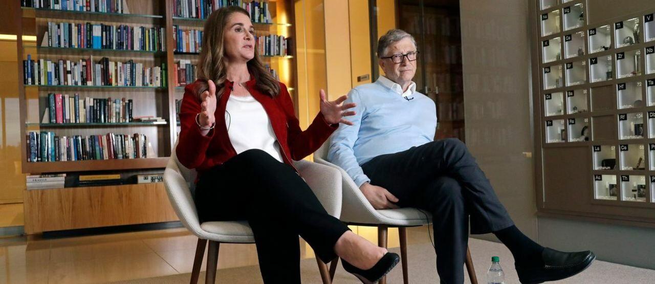 Bill Gates Dan Melinda Ann French 8c864