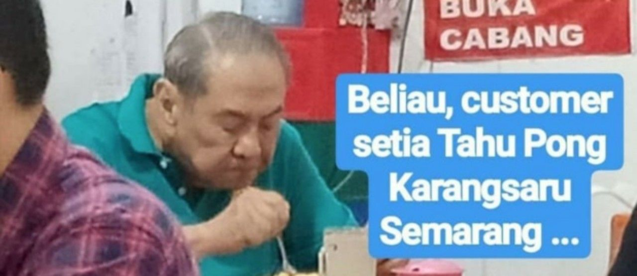 Orang Terkaya RI Makan Tahu Pong Di Warung Sederhana 49401