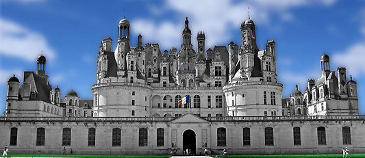 Chateau De Chambord In France 268ad