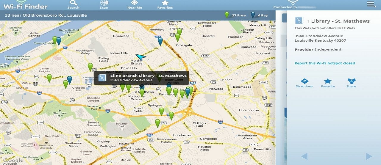 Wifi Finder Results B8fb3