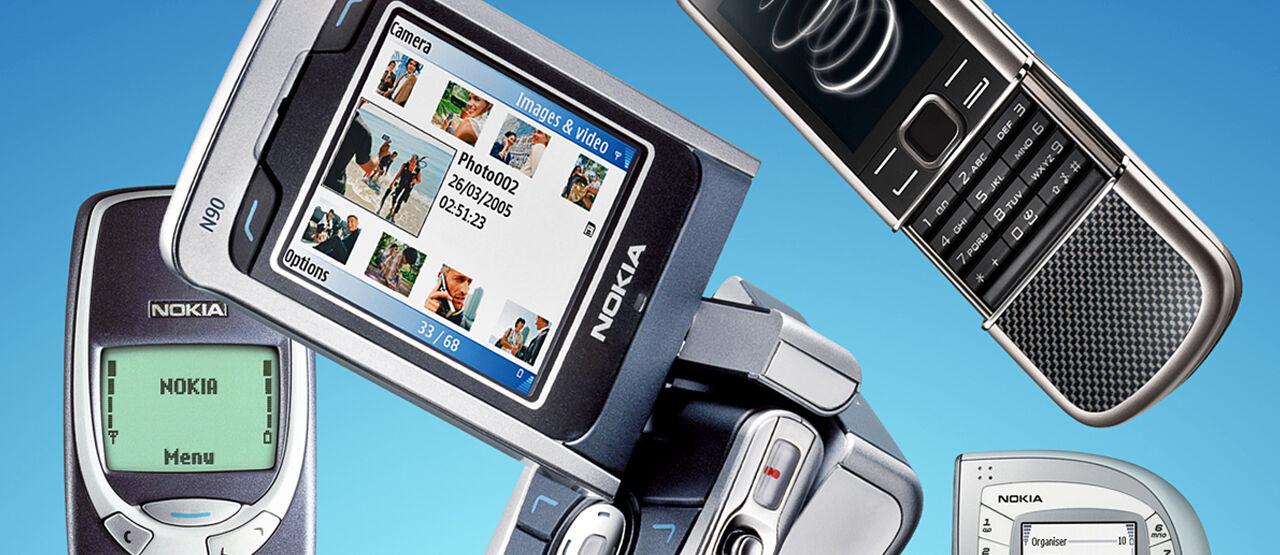 Hp Jadul Nokia 52f19