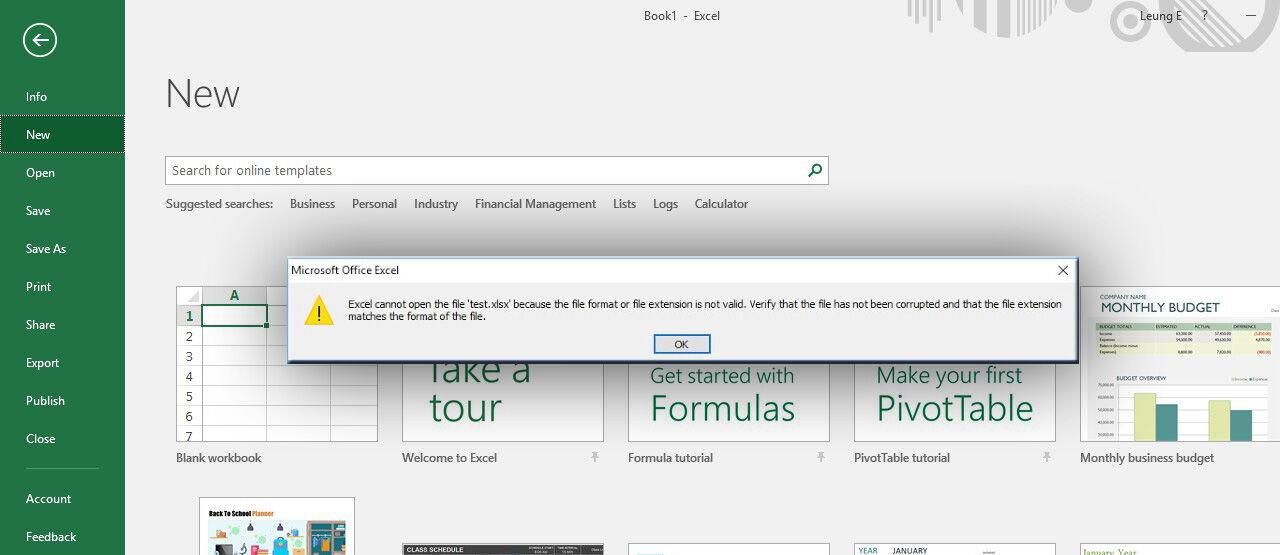 Cara Memperbaiki File Excel Corrupt Ed261