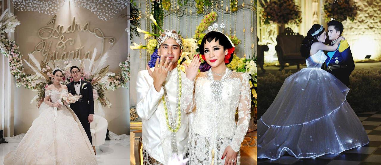 Potret Artis Indonesia Dengan Pernikahan Mewah Dan Megah 4d46d