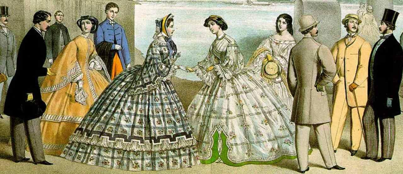 Mode Wanita Abad 19 5f5c5