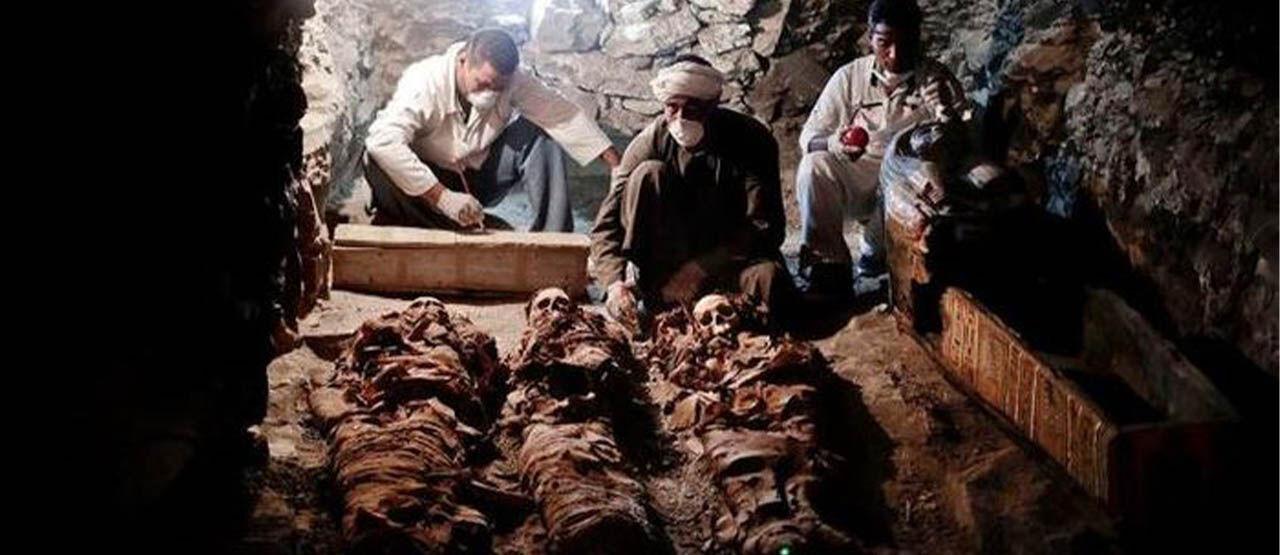 Penemuan Sejumlah Mumi Mesir 5786b