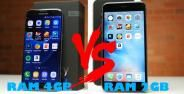Android Ram 4gb Vs Iphone Ram 2gb 4