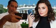 Handphone yang Sering Digunakan Orang Terkenal di Dunia, Jokowi Apple Fan Boy?