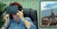 Lucunya Reaksi Orang Tua Ketika Pertama Kali Mencoba Virtual Reality Banner